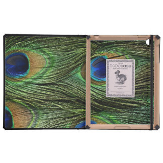 Peacock Feathers Cases For iPad
