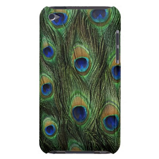 peacock feathers Case-Mate iPod touch case