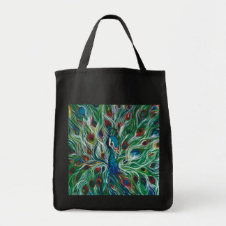 Peacock Feathers Designer Tote