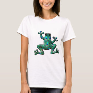 Peacock Feathers Frogs T-Shirt