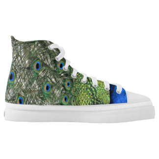 PEACOCK FEATHERS HIGHTOPS