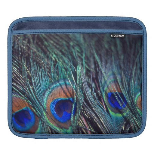 Peacock Feathers Sleeve For iPads