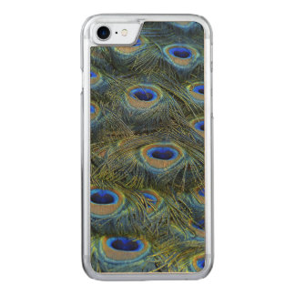 Peacock Feathers iPhone 6 Carved iPhone 7 Case