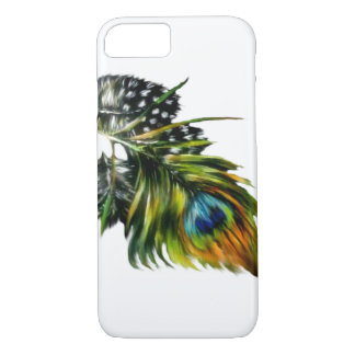 """Peacock Feathers"" iPhone 7 Case"