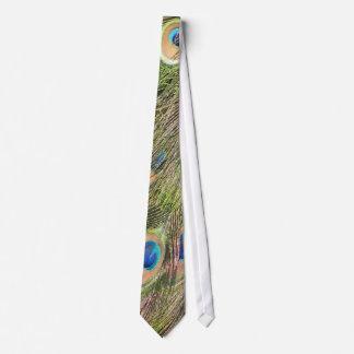 Peacock Feathers Men's Tie