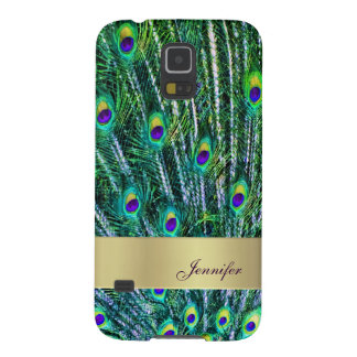 Peacock Feathers Samsung Galaxy S5 Case