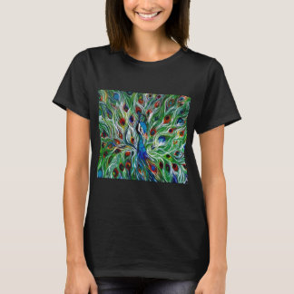 Peacock Feathers Women's Basic T-Shirts