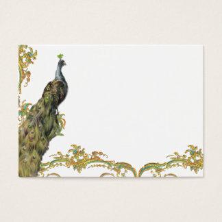 Peacock & Filigree Business/Profile Card