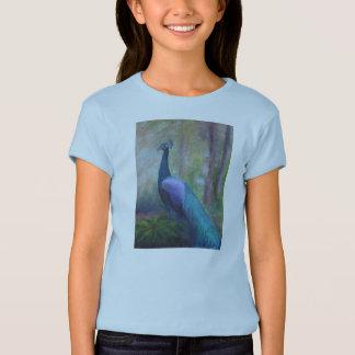 Peacock Girl's T T-Shirt