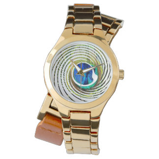 Peacock In A Spiral Design, Watch