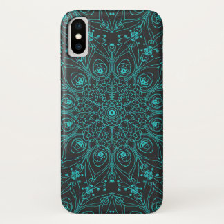 Peacock inspirations iPhone x case