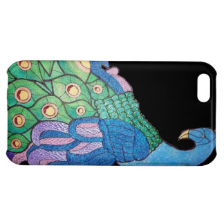 Peacock ipod case iPhone 5C cover
