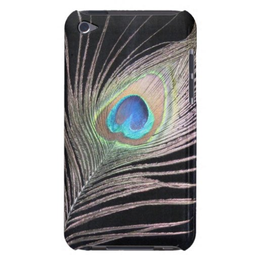 Peacock ipod Touch case