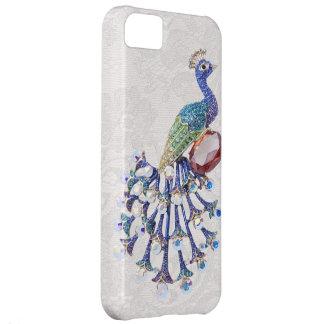 Peacock Jewel Image Paisley Lace Photo iPhone 5C Case