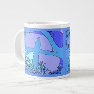 Peacock Jumbo Mug