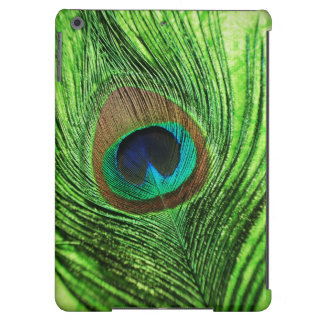 Peacock Lime Green iPad Air Cover