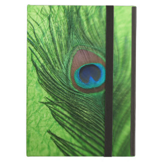 Peacock Lime Green iPad Air Covers