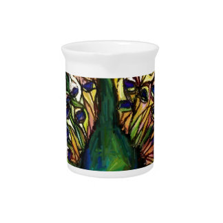 Peacock Majestic Drink Pitchers