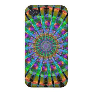 Peacock Mandala iPhone 4 Case
