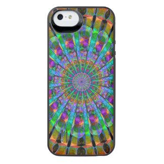 Peacock Mandala iPhone SE/5/5s Battery Case