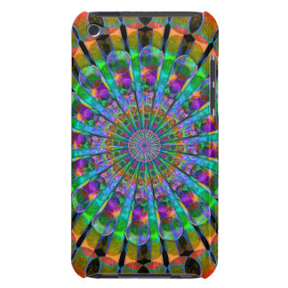 Peacock Mandala iPod Touch Cases
