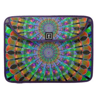 Peacock Mandala MacBook Pro Sleeve