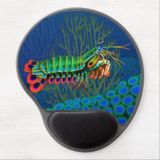 Peacock Mantis Shrimp Gel Mousepad