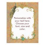 Peacock n Paisley Ornate Art Print Cards Invites