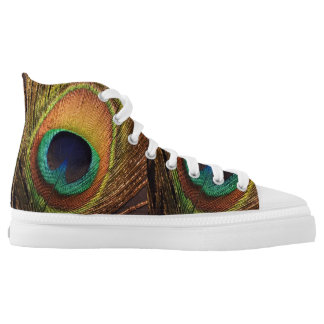 Peacock Nature's Art 4Terry Printed Shoes