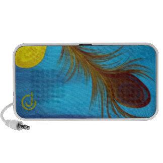 Peacock Notebook Speakers