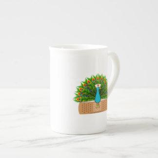 Peacock Nurse Tea Cup