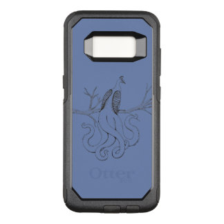 Peacock on a branch OtterBox commuter samsung galaxy s8 case