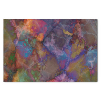 Peacock Ore Chalcopyrite Marble Tissue Paper