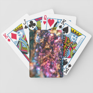 Peacock Ore Leggings Bicycle Playing Cards