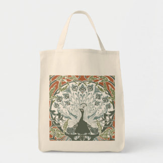 Peacock Organic Tote bag