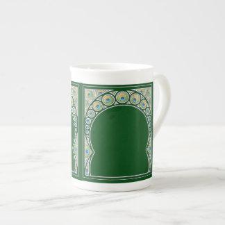 Peacock Pattern Mug