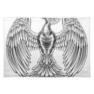 Peacock Phoenix bird design Placemat