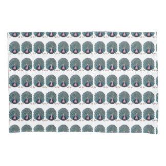 Peacock pillowcase