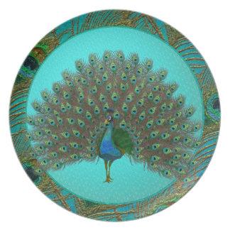 Peacock Plates