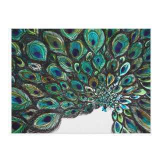 Peacock Point Perspective Canvas Print