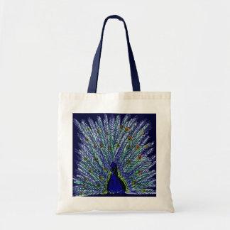 Peacock reusable bag