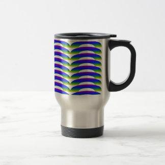 Peacock Ripple Coffee Mug