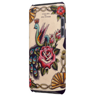 Peacock & Roses iPod Case-Mate Cases