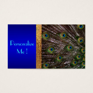 Peacock Save the Date Modern Elegant Chic Bride