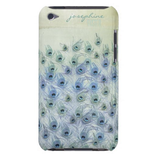 Peacock Sea Fantasy iPod Case-Mate Cases