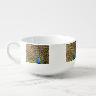 Peacock Soup Mug