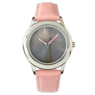 Peacock Stainless Steel Pink Watch