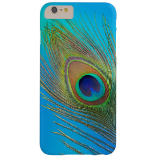 Peacock Tail Feather Barely There iPhone 6 Plus Case