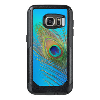 Peacock Tail Feather OtterBox Samsung Galaxy S7 Case