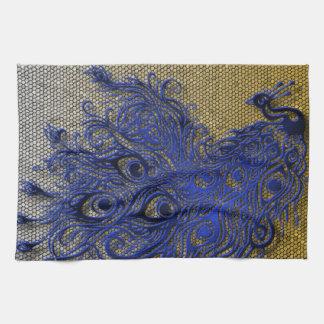 Peacock Tea Towel